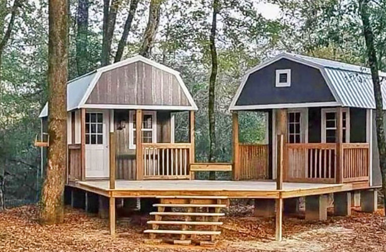 The 'We-Shed' Is a Dual Shed For Him and Her In Alvord