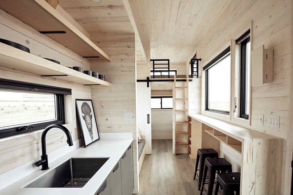 Tiny House Life in Alvord from a Shell Kit